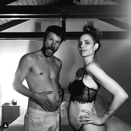 03.abr.2019 - Fernanda Lima e Rodrigo Hilbert anunciam gravidez - Reprodução/Instagram