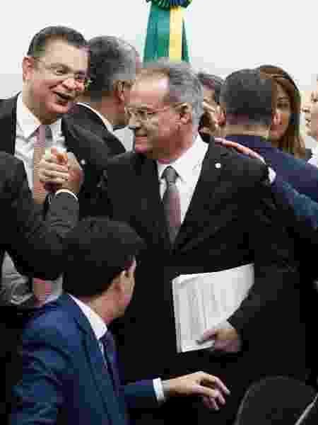 Deputado Samuel Moreira (PSDB-SP) apresenta seu parecer na comissão da Câmara que analisa a reforma - Pablo Valadares/Câmara dos Deputados