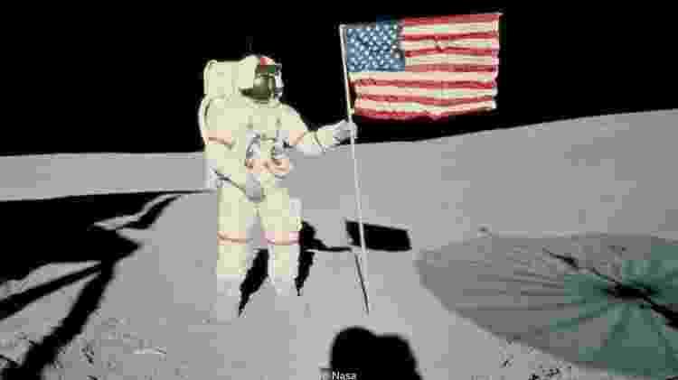 A Nasa calculou que astronautas envolvidos na exploração lunar precisariam de 2.800 calorias por dia - Nasa - Nasa
