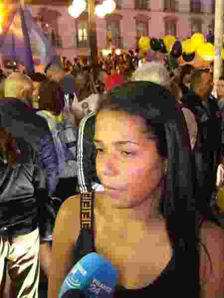 Daniela Félix, 24, tia de Ághata, morta no Rio, perdeu o marido após bala perdida há 5 anos - Lola Ferreira, Colaboração para o UOL