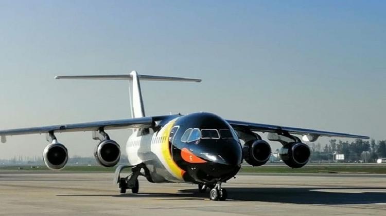 DAP Airlines faz voos para a Antártida com avião pintado de pinguim - Divulgação