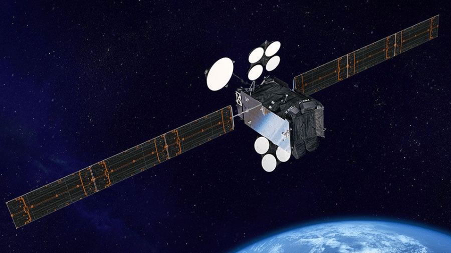 O satélite Spaceway-1 corre risco de explodir - Reprodução/Boeing
