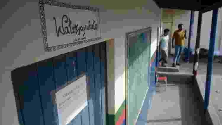 A aldeia dos Fulni-ô fica no sertão de Pernambuco, na cidade de Águas Belas. O Yathe, sua língua original, é a única língua indígena viva no Nordeste, e é usada nas escolas. - Beto Macário/UOL - Beto Macário/UOL