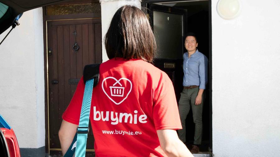 Aplicativo de entrega irlandês Buymie - Divulgação
