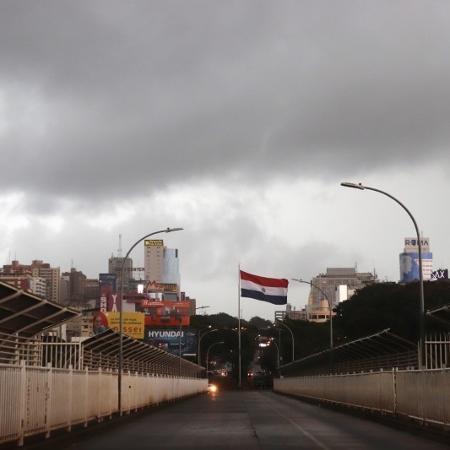 Via entre Brasil e Paraguai foi fechada em março - STRINGER