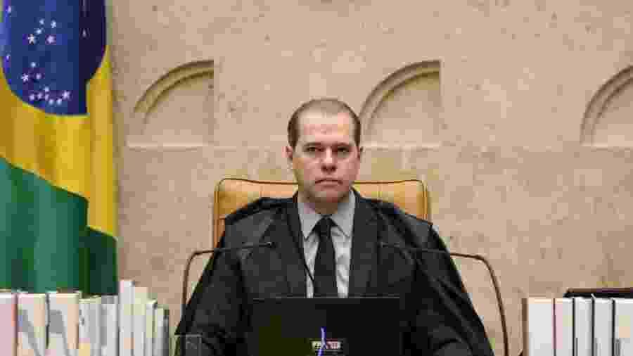 Ministro Dias Toffoli preside sessão plenária por videoconferência - Nelson Jr./SCO/STF