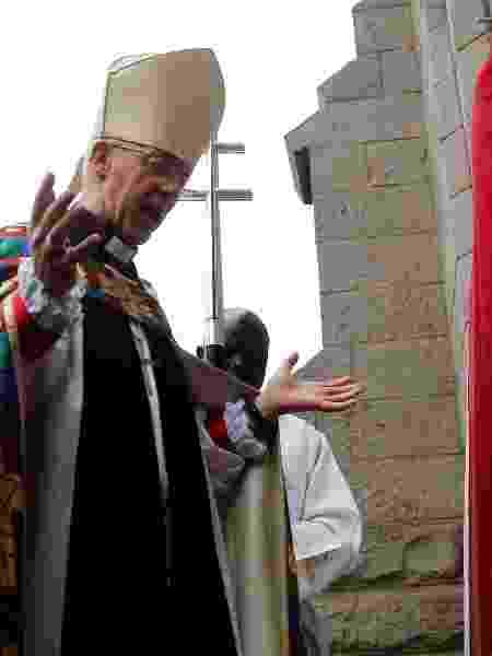 Justin Welby admite ainda que, diante de manifestações antirracistas, imagens de igrejas precisarão ser revistas - THOMAS MUKOYA