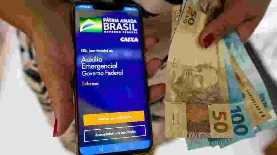 Para analistas, auxílio emergencial ajudou a melhorar a imagem de Jair Bolsonaro, sobretudo entre os mais pobres - André Melo Andrade/Myphoto Press/Estadão Conteúdo