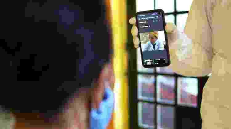 Serviço de consultas via telemedicina já beneficiou mais de 12 mil pessoas - Divulgação - Divulgação