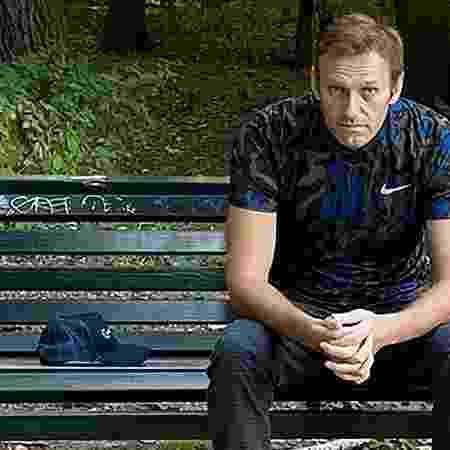 23.set.2020 - O opositor russo Alexei Navalny acusou o Putin de estar por trás de seu envenenamento - Instagram/AFP