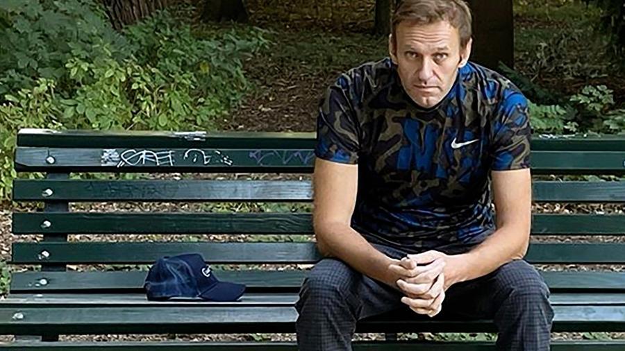 Arquivo - Alexei Navalny parou de comer em 31 de março em protesto contra as condições de sua detenção - Instagram/AFP