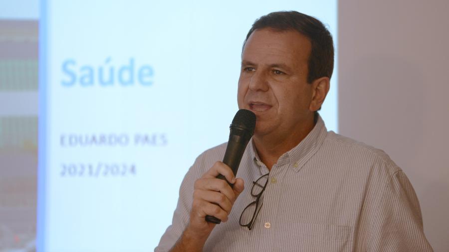 Eduardo Paes (DEM) acredita que a partir de março a produção de vacinas entrará em um fluxo melhor - Adriano Ishibashi/Framephoto/Estadão Conteúdo