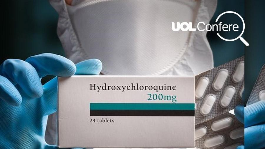 Projeto Comprova considera enganosa eficácia da hidroxicloroquina contra covid-19 - Divulgação