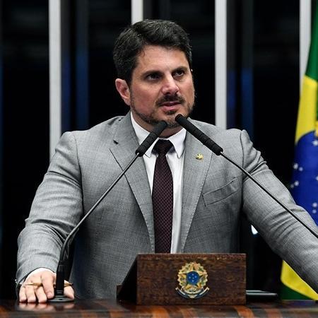 Senador Marcos do Val (Podemos-ES) foi à Justiça para retirar do ar uma matéria da Folha que citava seu nome - Jefferson Rudy/Agência Senado