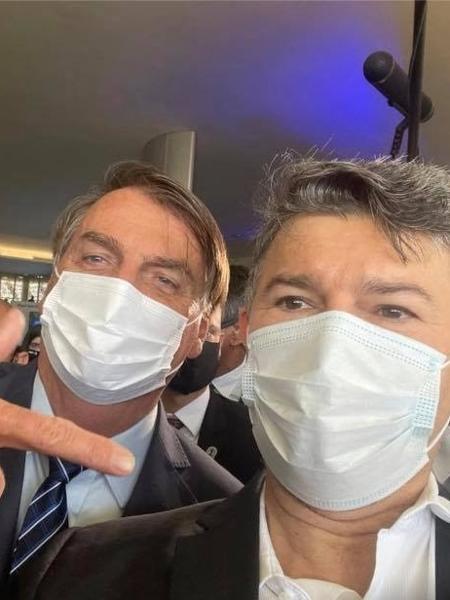 Medeiros e Bolsonaro: dias antes de morrer, advogado acusou o deputado e o presidente pelas mortes da covid-19 - Reprodução