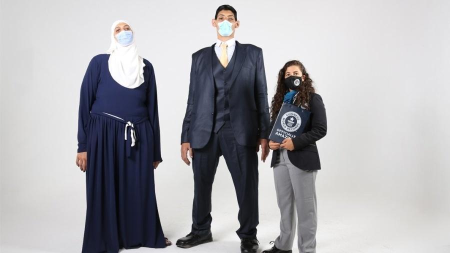 Os irmãos recordistas: Huda e Mohamed Shehata - Guinness World Records