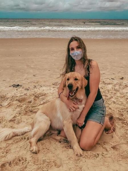 Eduarda Martins Melo fez desabafo sobre a Lei Maria da Penha após agressões do ex-padrasto - Arquivo Pessoal