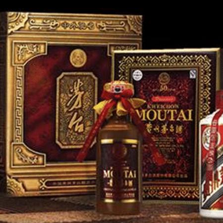Moutai é um licor feito à base de arroz e sorgo fermentado - Reprodução/Facebook/ Moutai China
