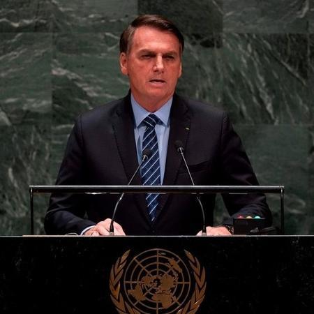 Bolsonaro na ONU - AFP