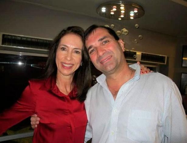 A obstetra Leânia Garcia Telles, 57, e o cardiologista Paulo César de Carvalho Telles, 57