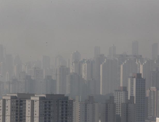 Pode acreditar, esta é São Paulo: com o tempo seco e temperatura na casa dos 25ºC