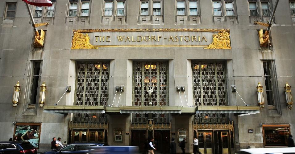 6.out.6. Waldorf Astoria, um dos hotéis mais famosos de Nova York