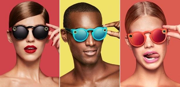 Spectacles, novo óculos do Snapchat com câmera na armação - Divulgação