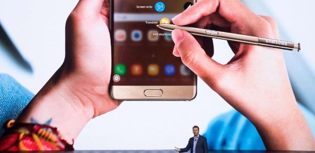 Samsung acabou forçada a interromper a fabricação do smartphone Galaxy Note 7