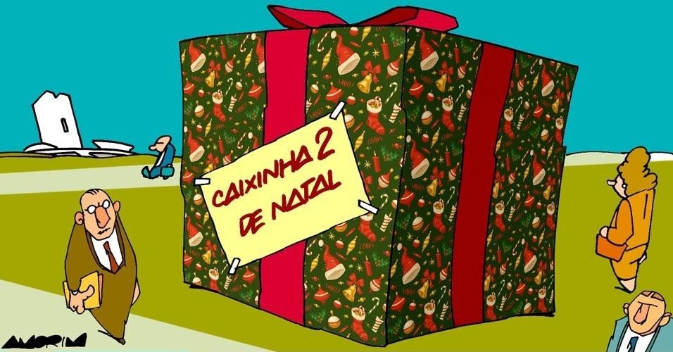 20.nov.2016 - Brasília já prepara caixinha de Natal
