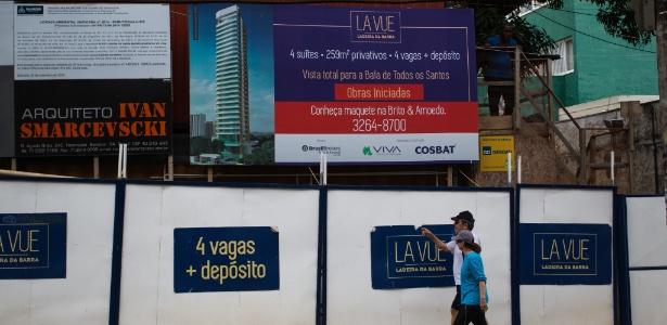 Obra do edifício La Vue, em Salvador, que gerou crise no governo Temer