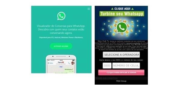 Golpe no WhatsApp promete saber quem visualizou sua conversa