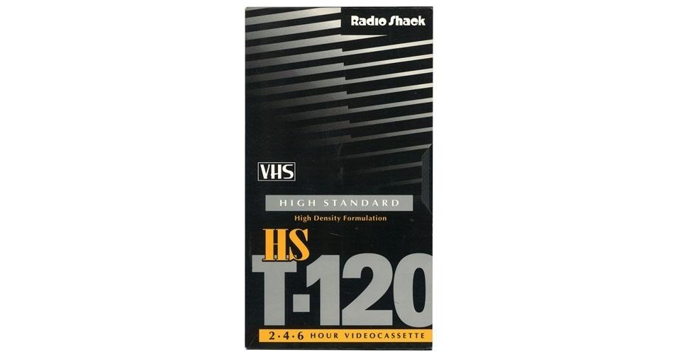 Fita cassete VHS (1990). Esse é um dos objetos extintos que integram a enciclopédia virtual criada pela startup russa Thngs para eternizar tecnologias do passado