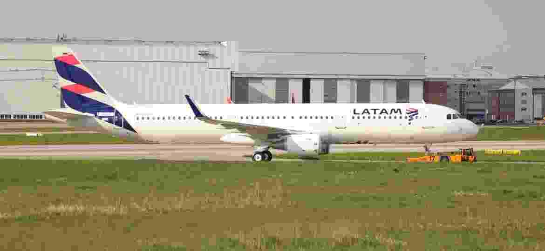 Airbus A321 da Latam - Reprodução