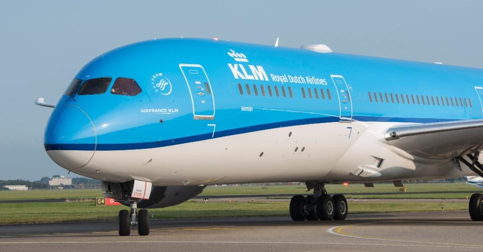 Avião KLM