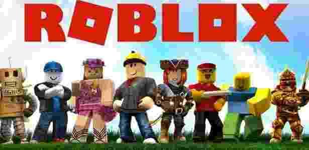 Imagem do game Roblox, que virou motivo de preocupação para a polícia inglesa - Divulgação