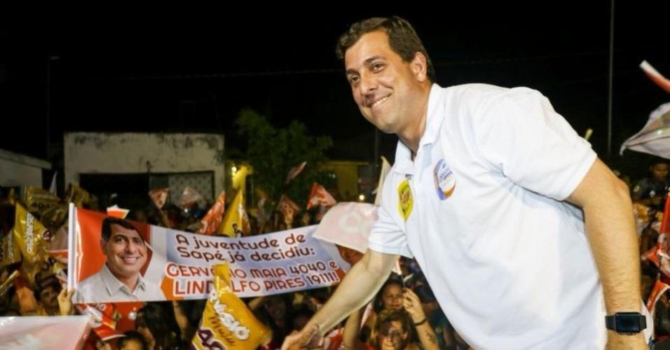 27.set.2018 - Na Paraíba, Gervásio Maia (PSB) teve a votação mais expressiva entre os candidatos a deputado federal: mais de 146 mil votos
