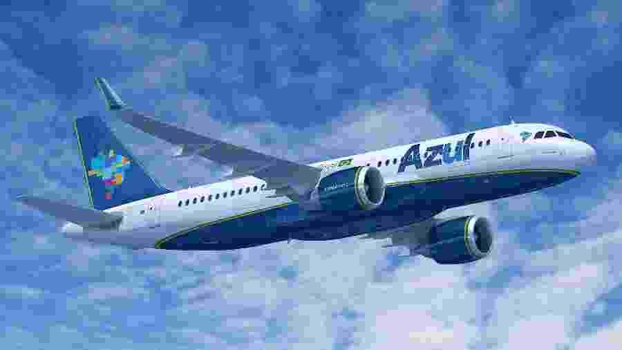 Avião da Azul - Divulgação
