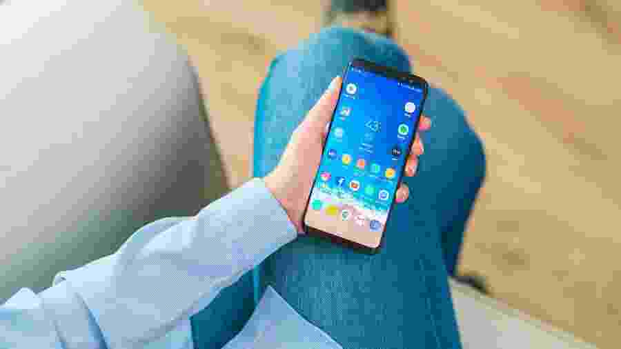 Celular, smartphone, Android, Samsung - iStock
