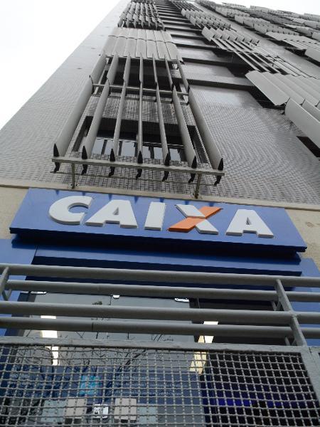 23.ago.2019 - Fachada da agência da Caixa reinaugurada hoje na Rocinha - Jorge Hely/FramePhoto/Estadão Conteúdo
