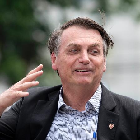23.nov.2019 - O presidente Jair Bolsonaro - Celso Pupo/Fotoarena/Estadão Conteúdo