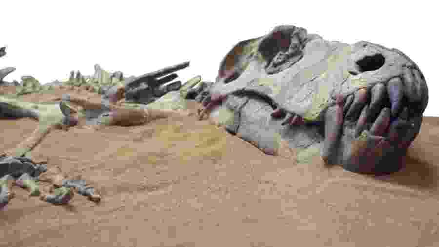 """Os dinossauros foram extintos há cerca de 66 milhões de anos ? mas há vários outros animais que já desapareceram da face da Terra de uma forma menos """"dramática"""" - Getty Images"""