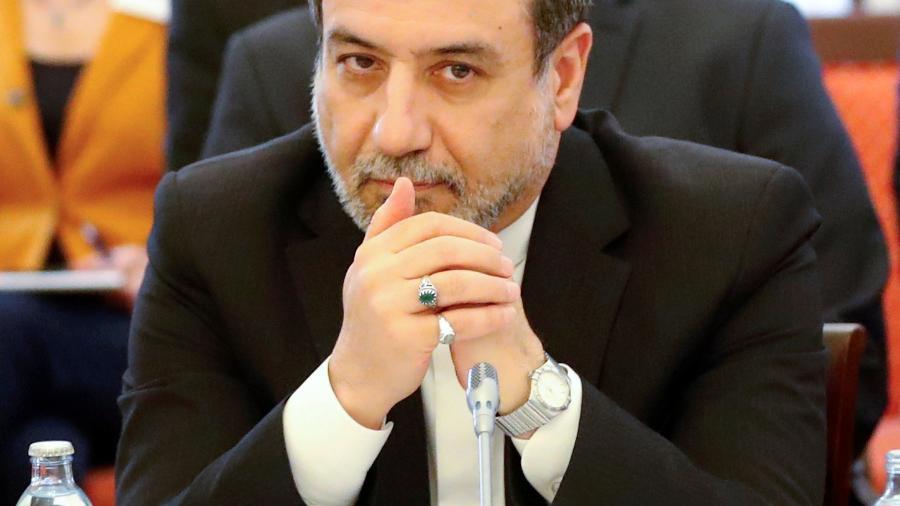 Abbas Araqchi é o principal negociador iraniano - Leonhard Foeger