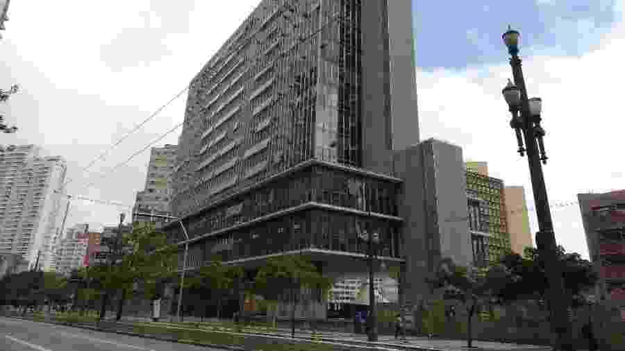 Prédio Câmara Municipal de São Paulo, no centro da cidade - Luis França/Divulgação/Câmara Municipal de São Paulo