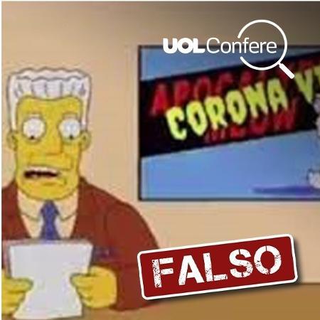 Confere Simpson - Arte/UOL