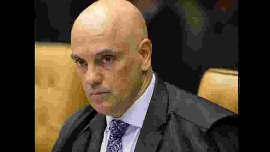 O ministro do STF Alexandre de Moraes é relator do inquérito sobre ameaças ao tribunal - Rosinei Coutinho/STF