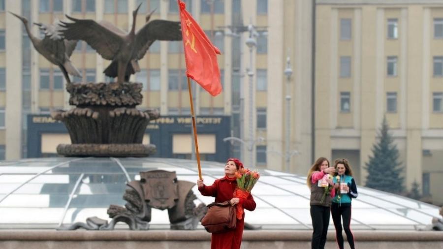 Belarus formou parte da URSS até 1991 - Getty Images