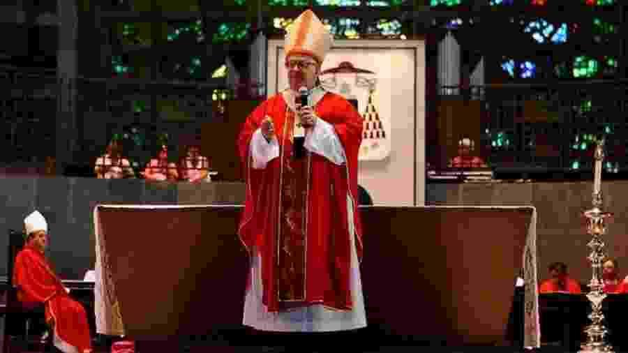 """Segundo a Diocese de São José dos Campos, Scheid enfrentava uma """"forte pneumonia"""", além de ter contraído a covid-19 - Reprodução"""