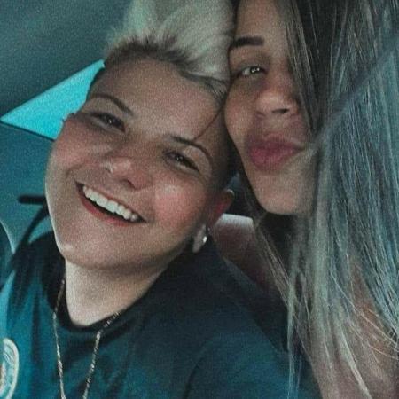 """Mayra (esquerda), autoproclamada """"marginal influencer"""", e a namorada Elisangela foram presas no Paraná - Divulgação/PC"""