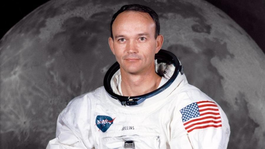 Astronauta Michael Collins em foto da época da Apollo 11 - Divulgação/Nasa