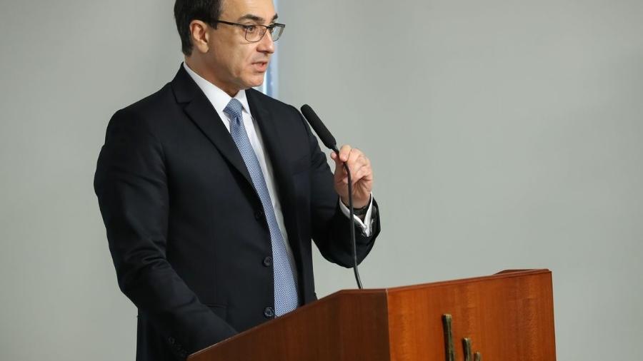 O ministro das Relações Exteriores, Carlos Alberto de Franco França - Marcos Correa/Presidência da República